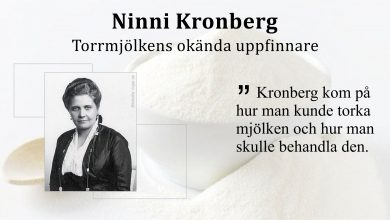 Photo of Ninni Kronberg – Torrmjölkens okända uppfinnare