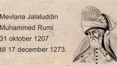 Photo of Ur Rosengården 6 – Mevlana Jalaluddin Muhammed Rumi var sufimästare, mystiker och poet