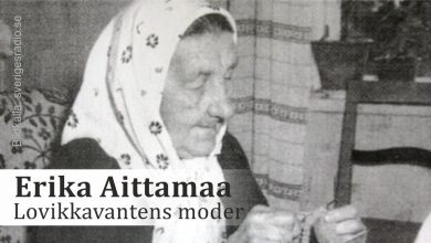 Photo of Erika Aittamaa – Lovikkavantens moder