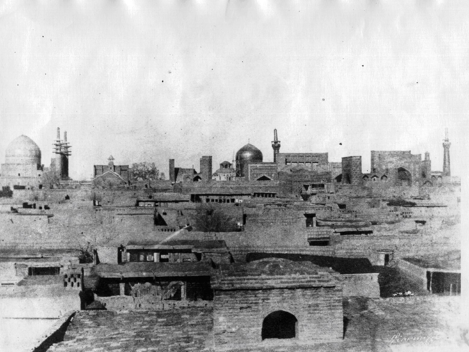 Några historiska bilder från Imam Ridhas (fvmh) helgedom: