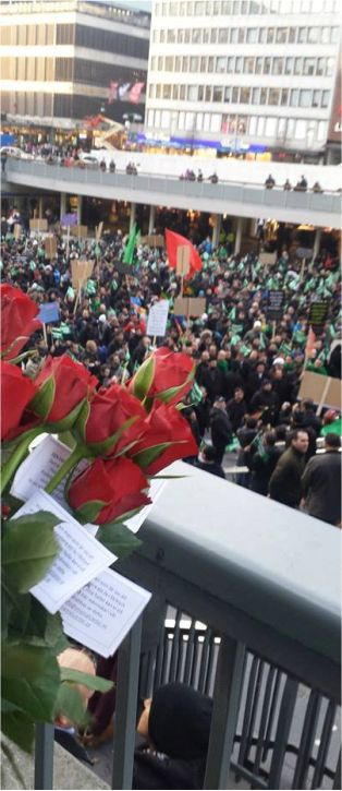 Bild: Ashura manifestation Stockholm 2013
