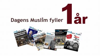 Photo of Dagens Muslim fyller ett år!