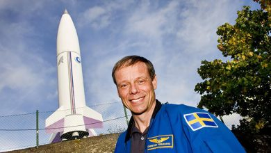 Photo of Christer Fuglesang  – Sveriges enda astronaut