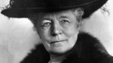 Photo of Selma Lagerlöf  – Sveriges första nobelpristagare i litteratur