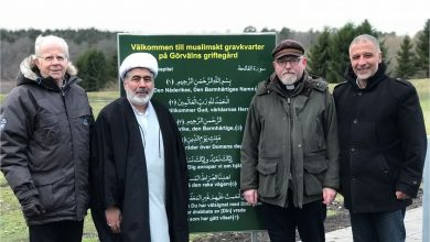 Photo of Muslimernas första begravningsplats i Järfälla har invigts