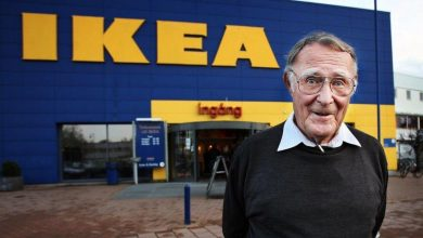 Photo of Ingvar Kamprad (1926-2018) – Ikeas grundare
