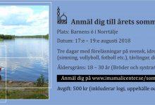 Photo of Anmäl dig till årets sommarläger