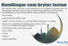 Photo of Handlingar som bryter fastan