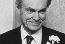 Photo of Sune Bergström – Nobels medicinpristagare 1982