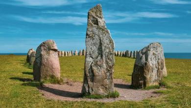 Photo of Svenska platser: Fornlämningen Ales stenar