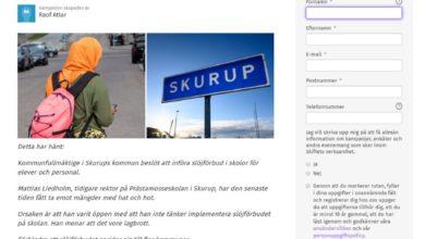 Photo of Ur media – Tackbrev till skolans rektor i Skurup