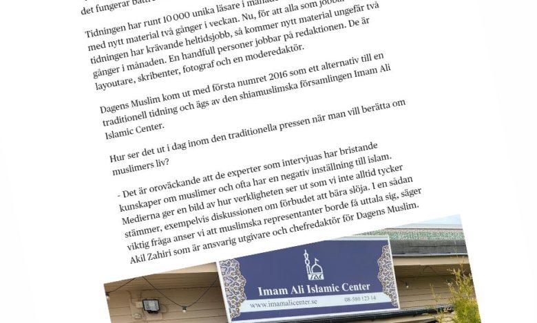 Photo of Ur media – Islam i svensk media