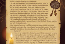 Photo of Imam Husseins (fvmh) testamente