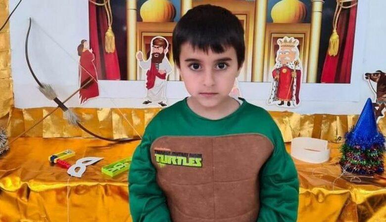 Bilder på några barn som dödades i det pågående krig mot Ghaza